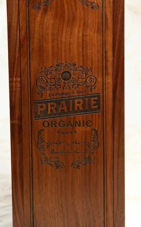 Prairie Organic Vodka with a Slide Top Box