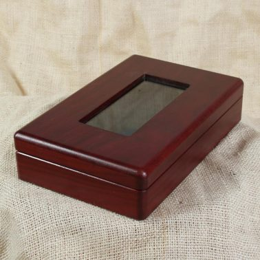 Small specialty box with glass top