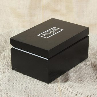 Astor LTD promotional package - black box with lid