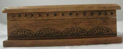"Rustic ""Wagon Wheel"" design box"