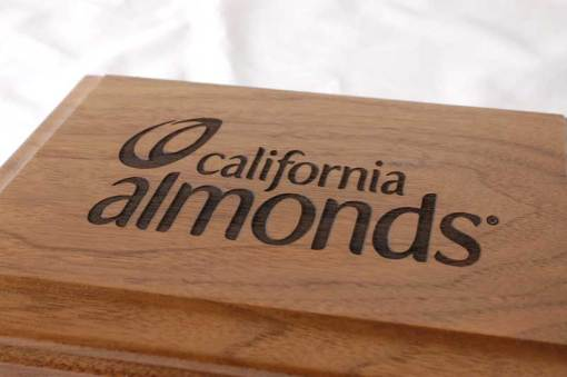 California Almonds Promotional Box