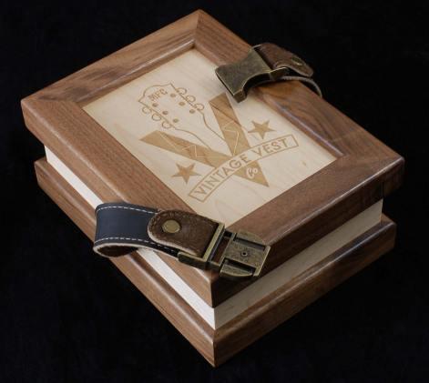 Vintage Vests Buckle Box