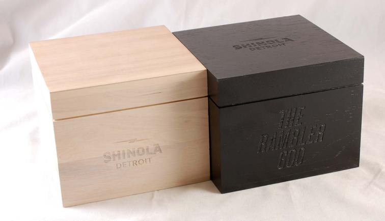 Shinola - White & Black