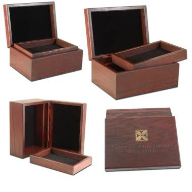 Hinge Box with Removable Tray