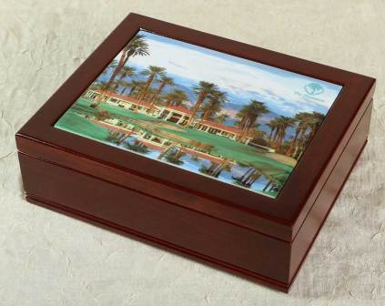 Golf Club Members Box with Ceramic Insert