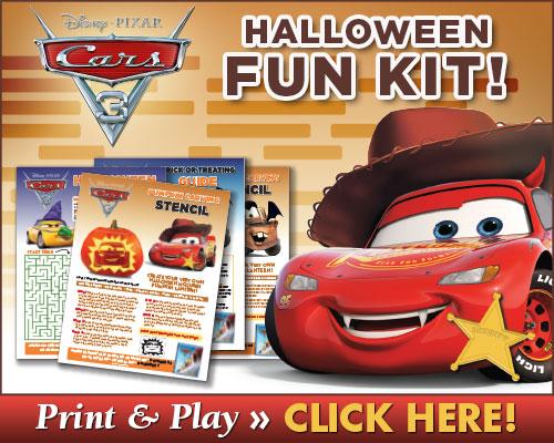 Download Cars 3 Halloween Activities