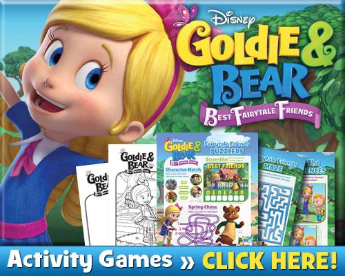 Download Goldie & Bear Activities