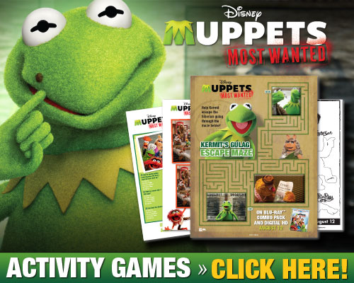 Download Muppets Most Wanted Activity Games