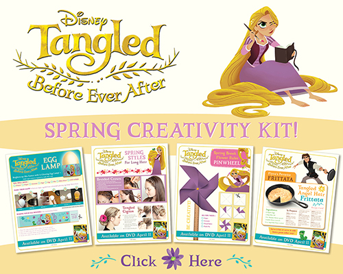 Download Tangled Before Ever After Spring Creativity Kit