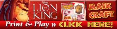 Download The Lion King Signature Mask Craft