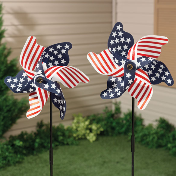 Patriotic Pinwheel Fourth Of July Pinwheel Walter Drake