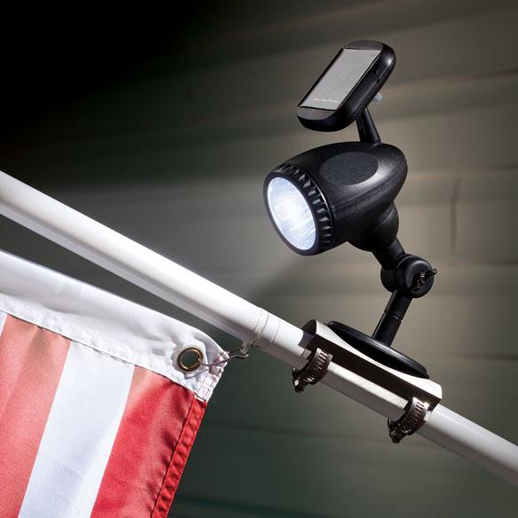 Flag Pole Lights Solar Powered