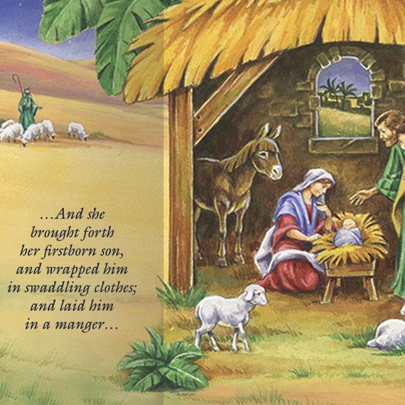Gatefold Nativity Christmas Card Set20 Christmas Cards