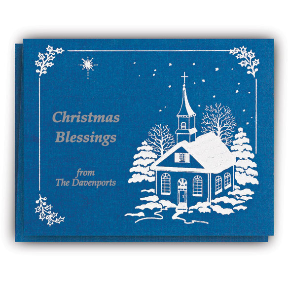 Personalized Religious Christmas Cards Christmas