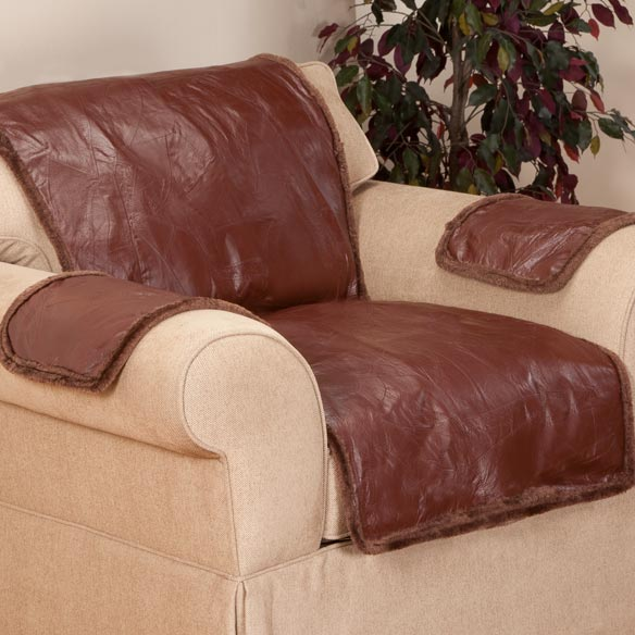 Leather Chair Cover Leather Furniture Cover Walter Drake