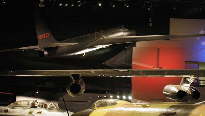 7-6 U-2 Spy plane at Air Force Museum_255079