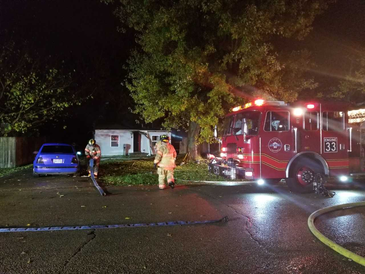 Barney Ave. House Fire 1_278558