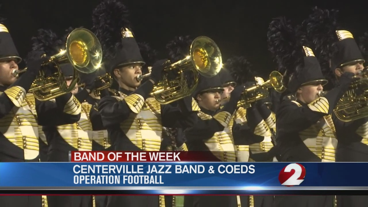 Operation Football Band of the Week 6: Centerville Jazz Band and Coeds
