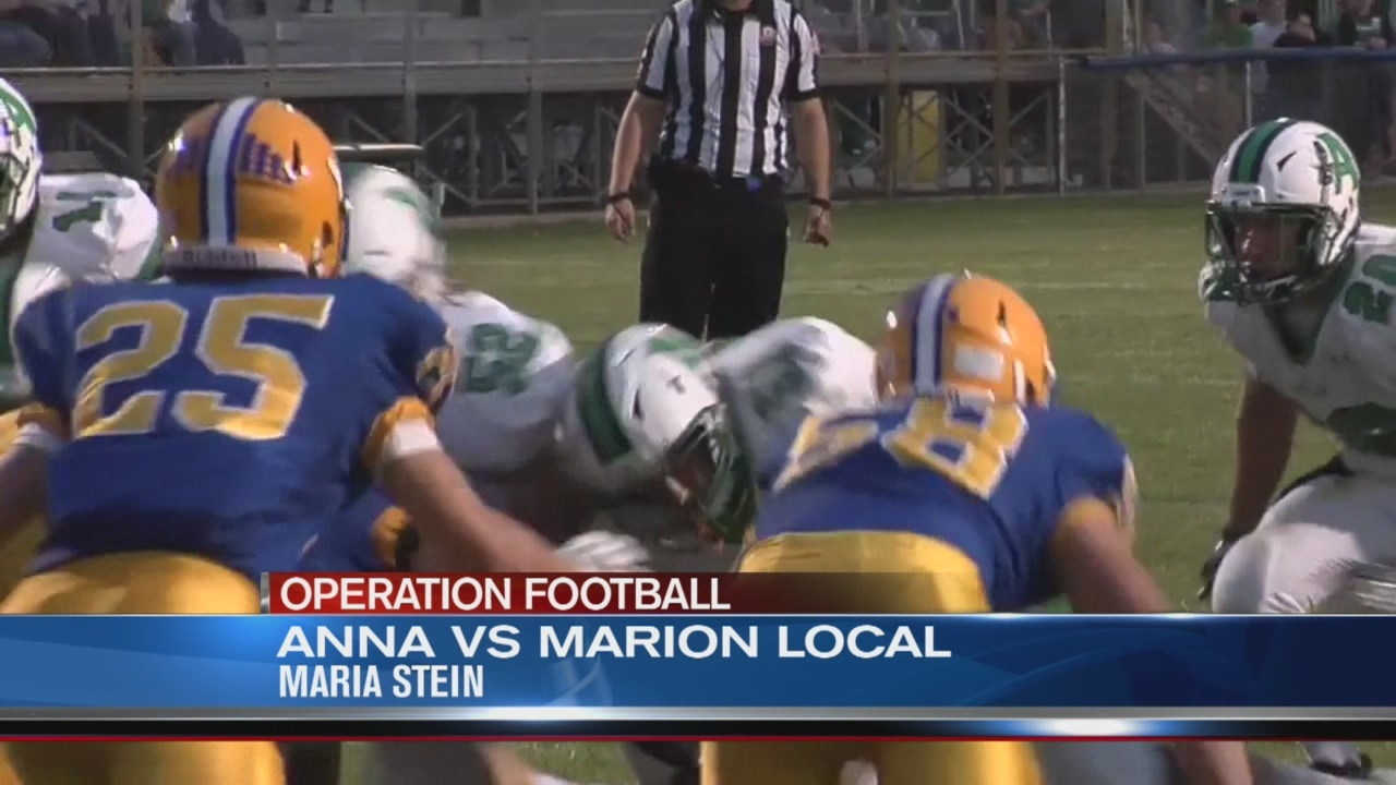 Operation Football Week 5: Anna at Marion Local