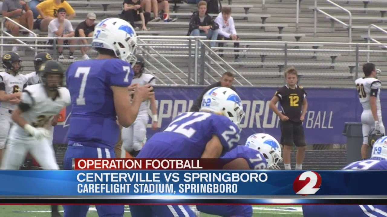 Operation Football Week 5: Centerville at Springboro