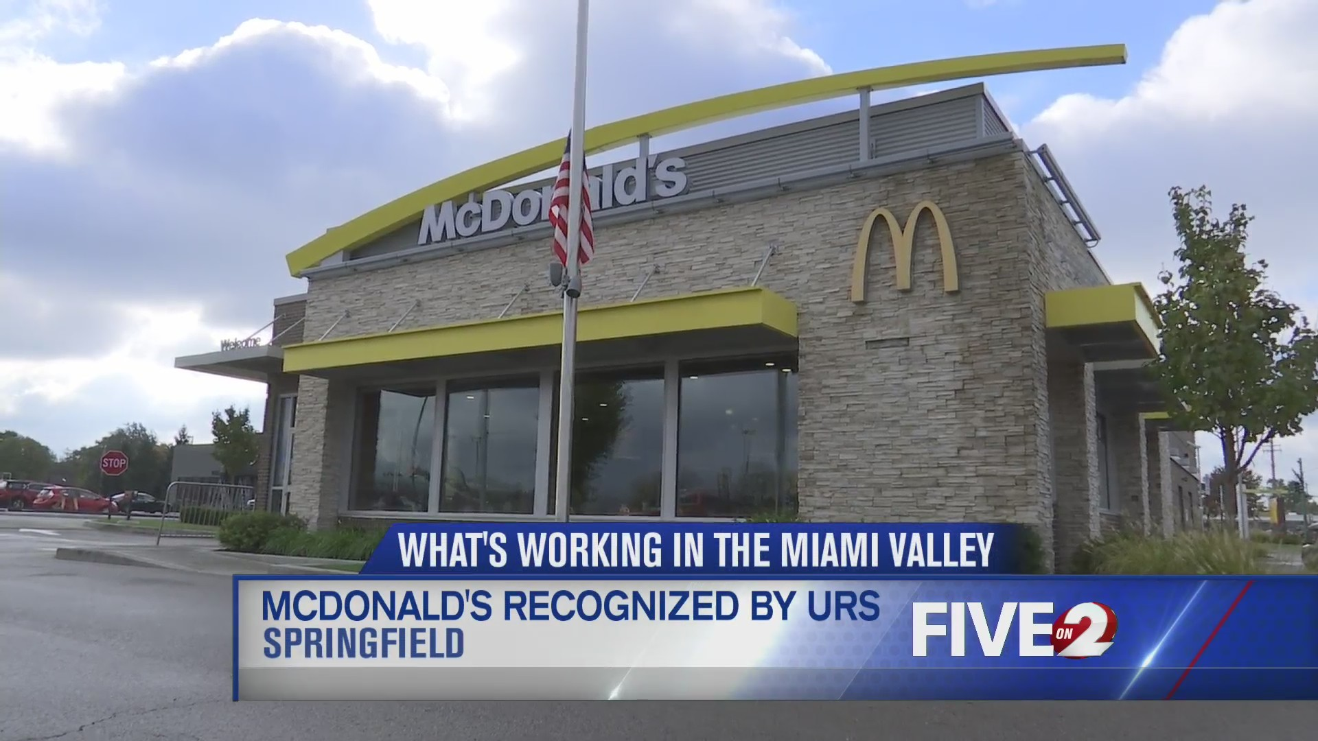 McDonald's recognized by URS