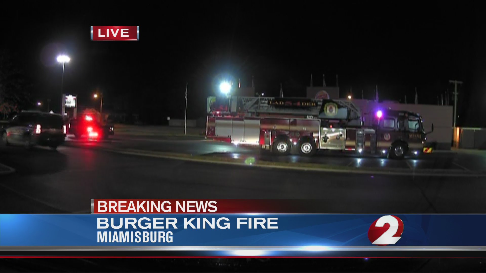 Miamisburg Burger King fire