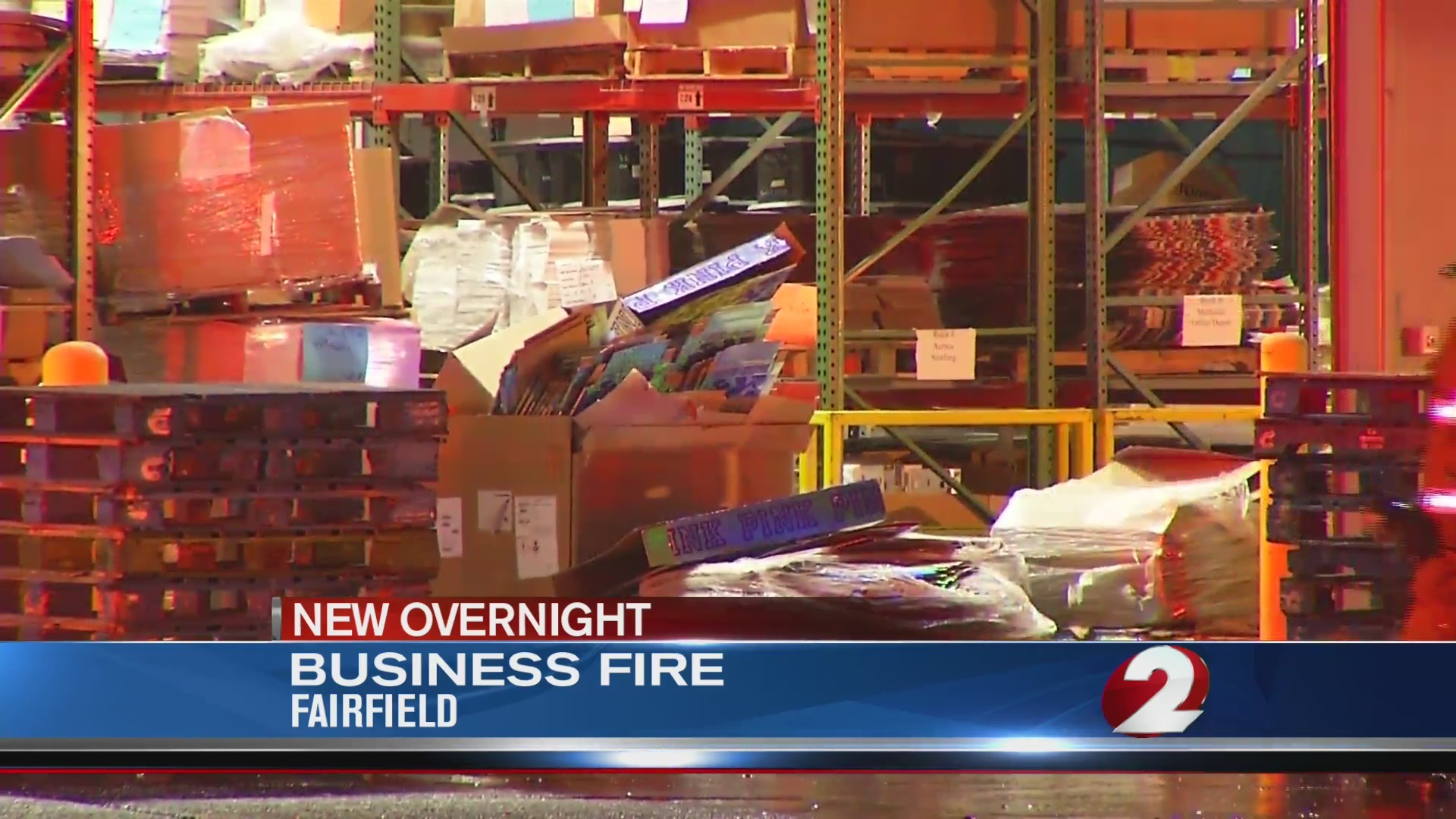Fire crews called to Fairfield business