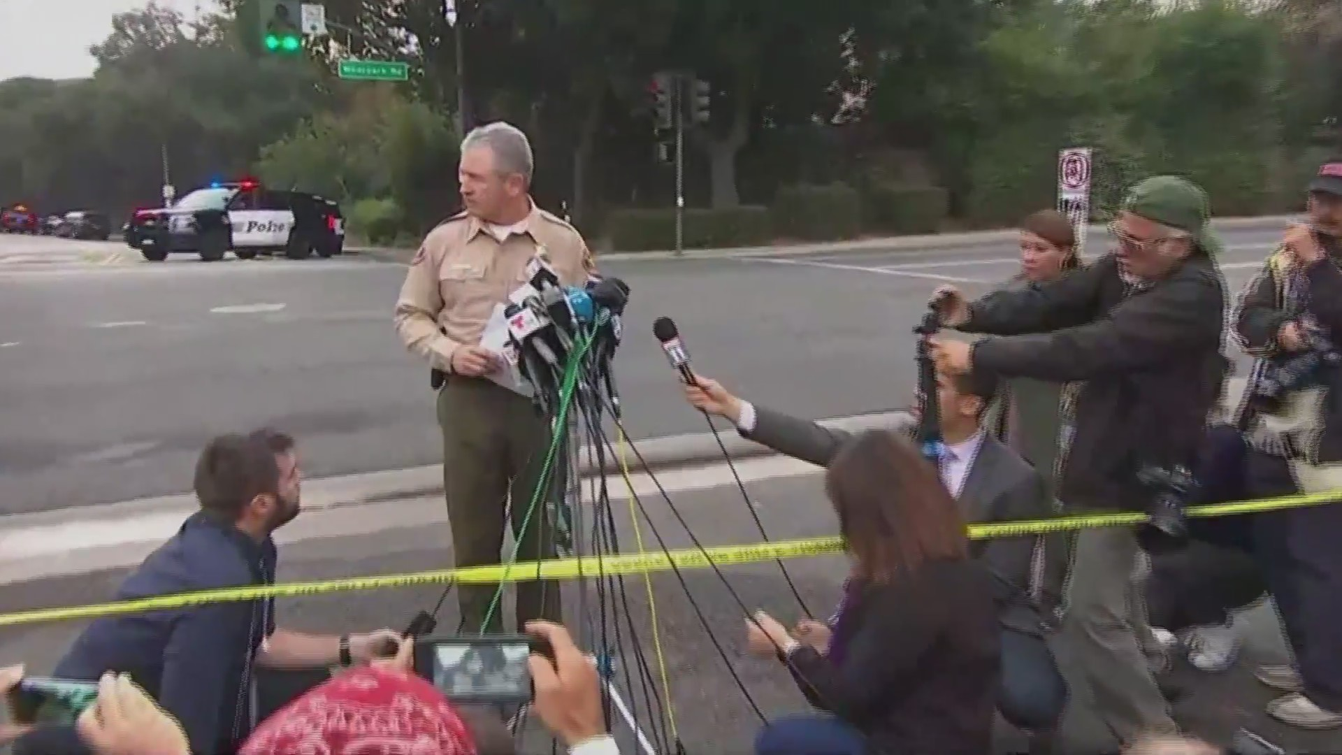 Police discuss shooting that killed 13 in California bar