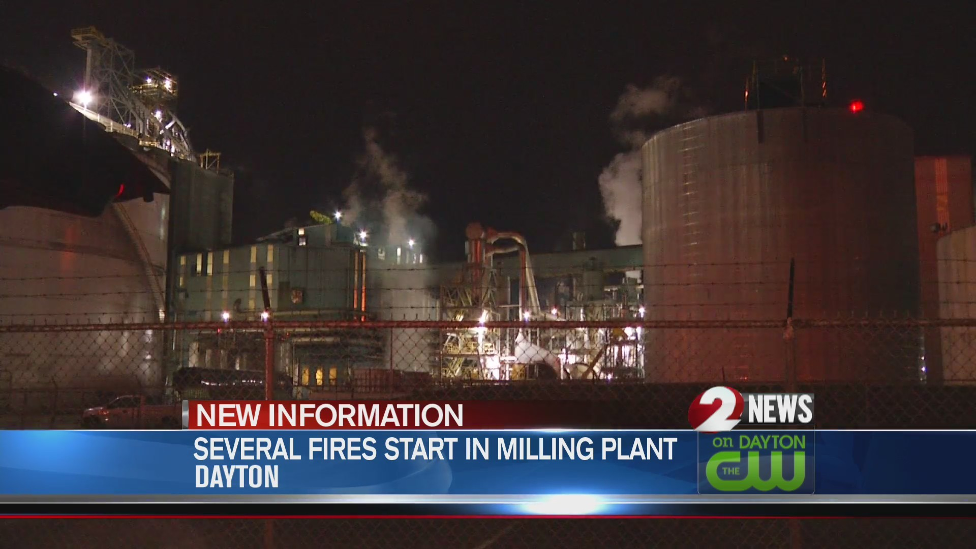 Several fires break out at Cargill plant