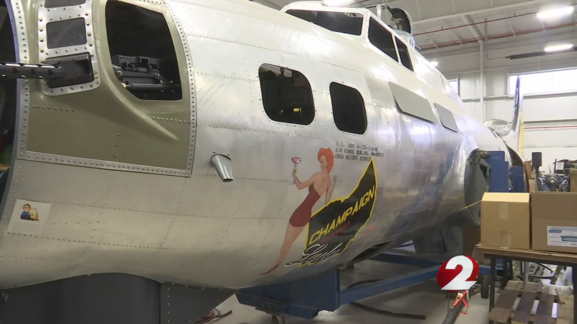 I Love Dayton: Champaign Aviation Museum rebuilding history