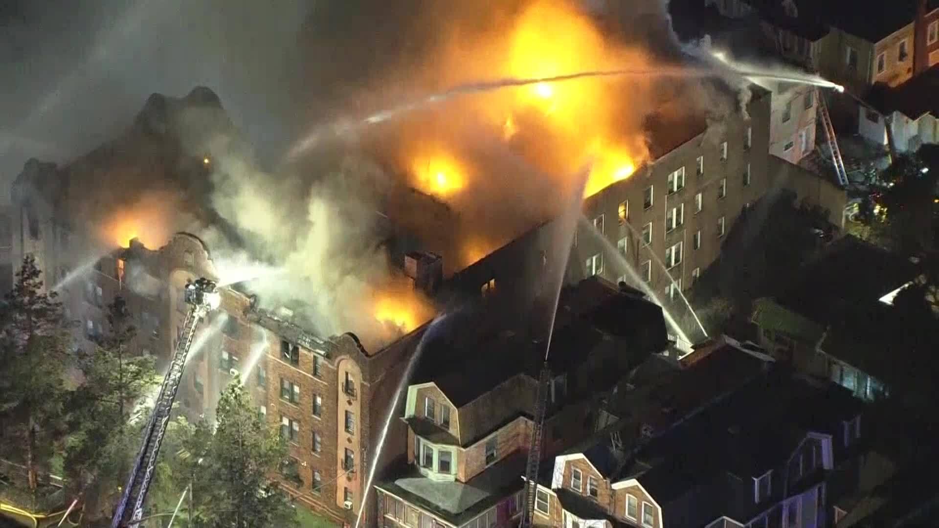 Philadelphia Apartment Fire - 12/10/2018