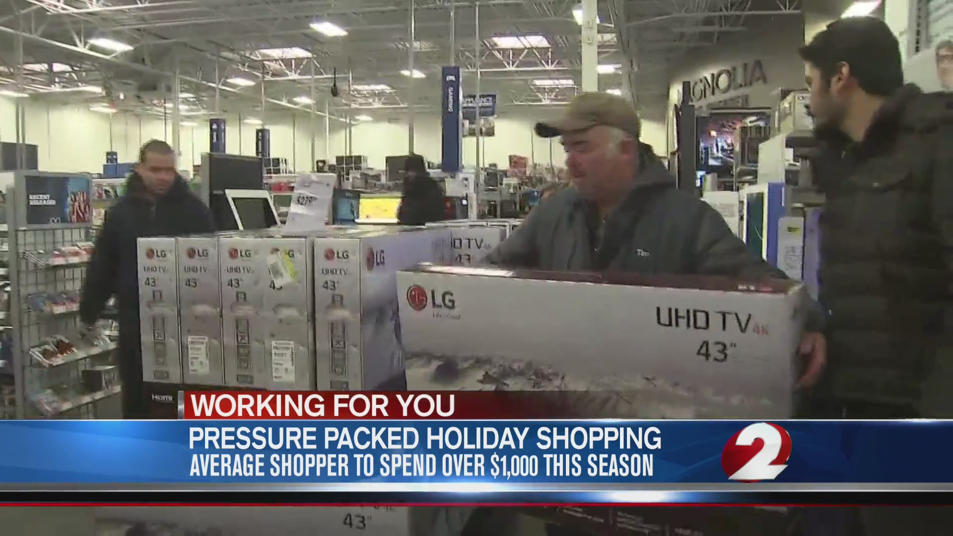 Pressure-packed holiday shopping