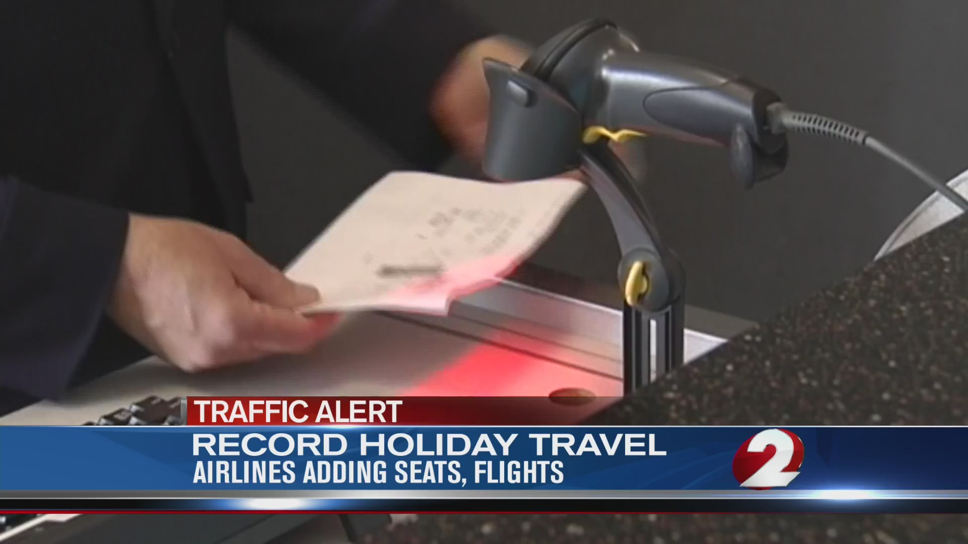 Record holiday travel