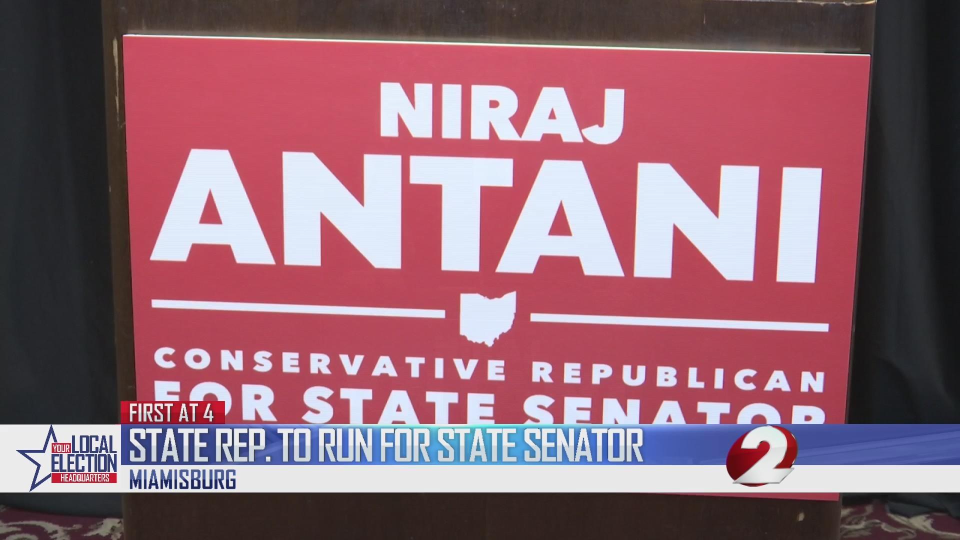 State Rep. to run for State Senator