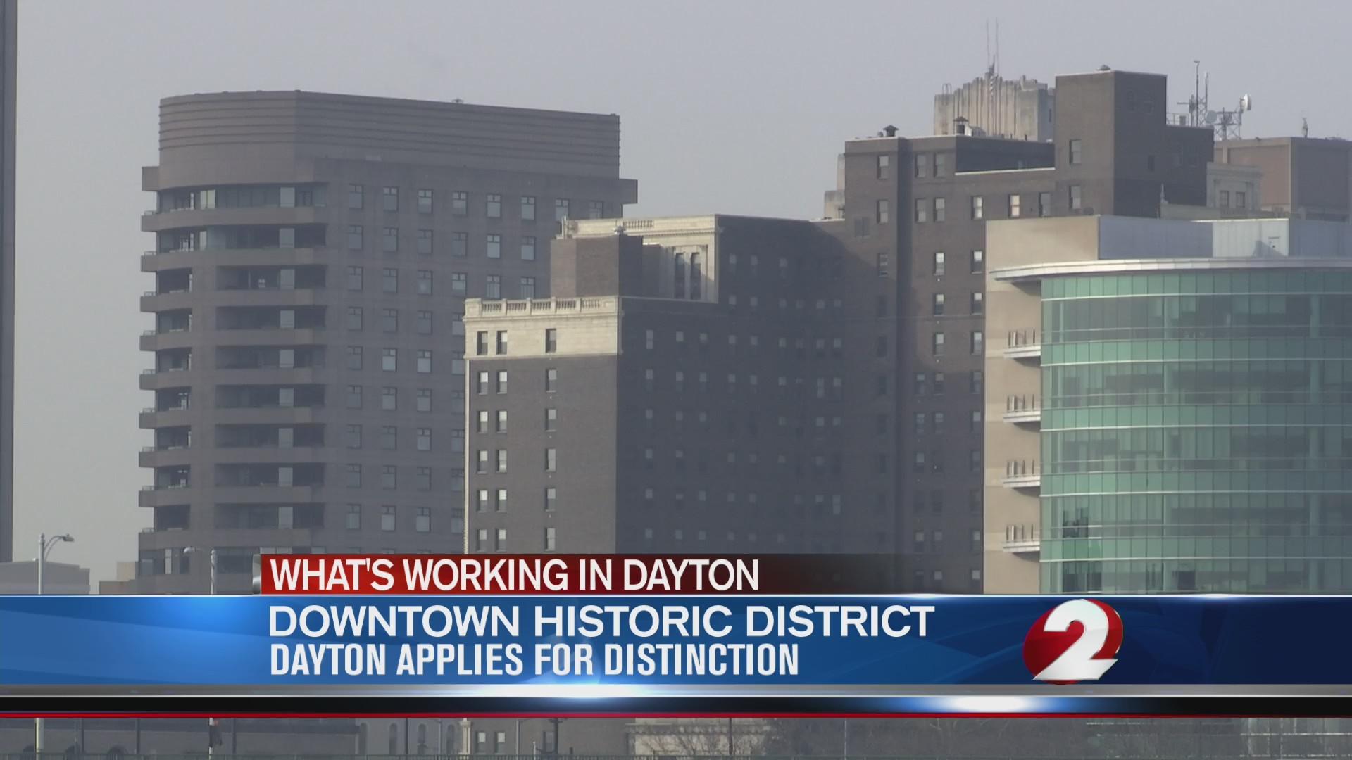 Downtown Dayton applies for distinction