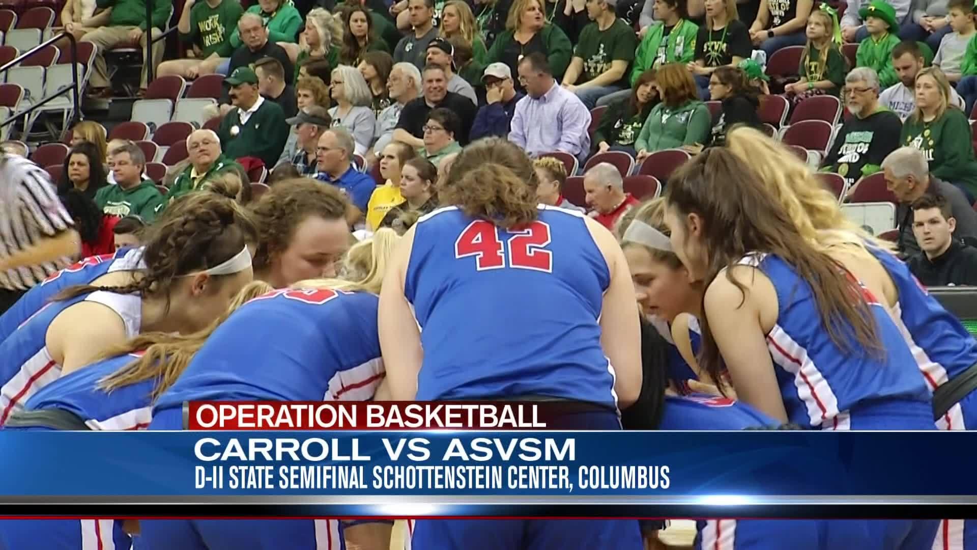 Carroll Girls Basketball - 3/14/19