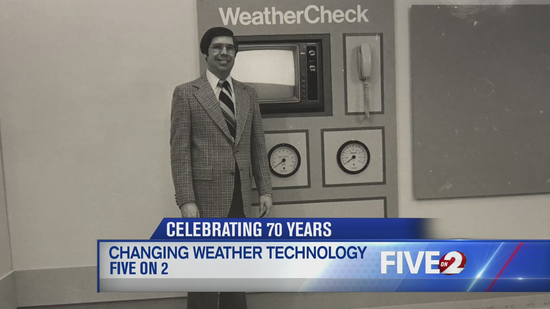 Celebrating 70 Years: Changing weather technology