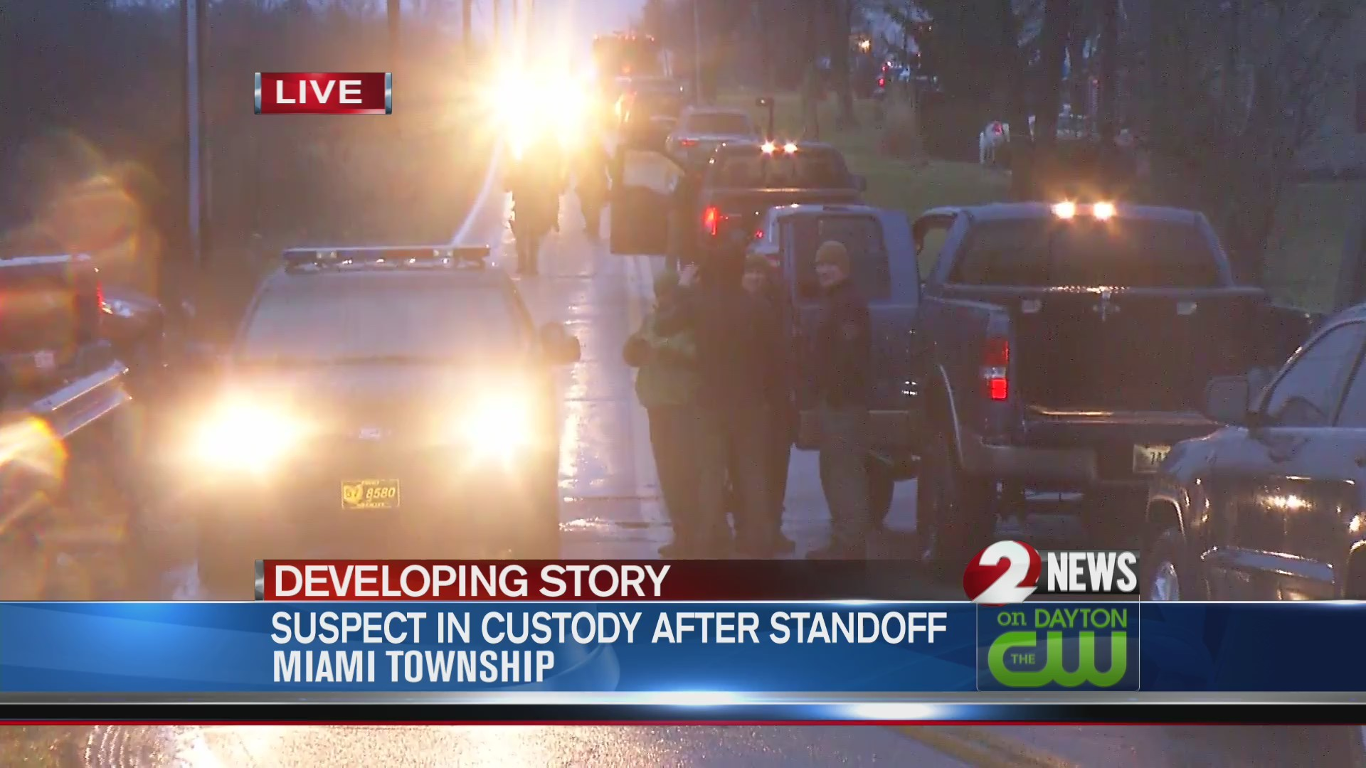 Suspect in custody after Miami Township standoff