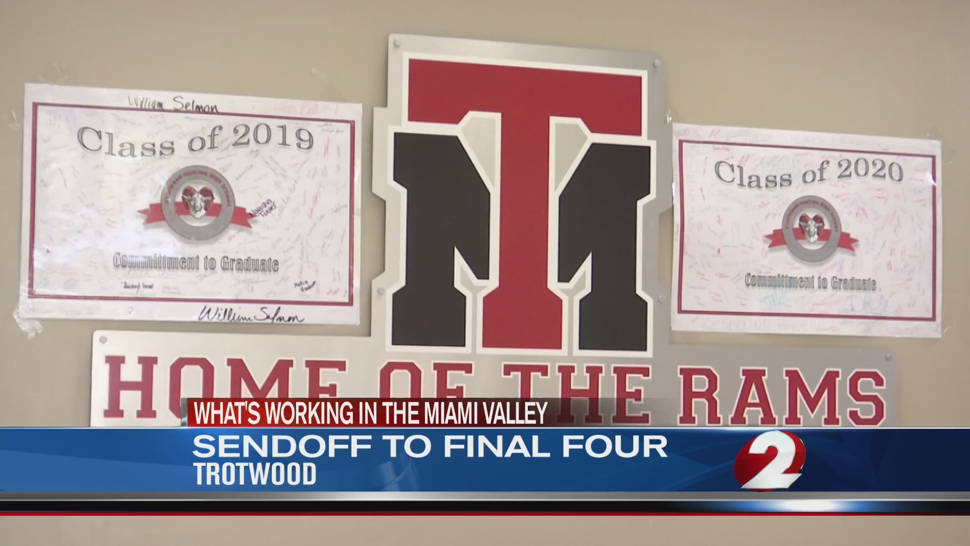 Trotwood sendoff to Final Four