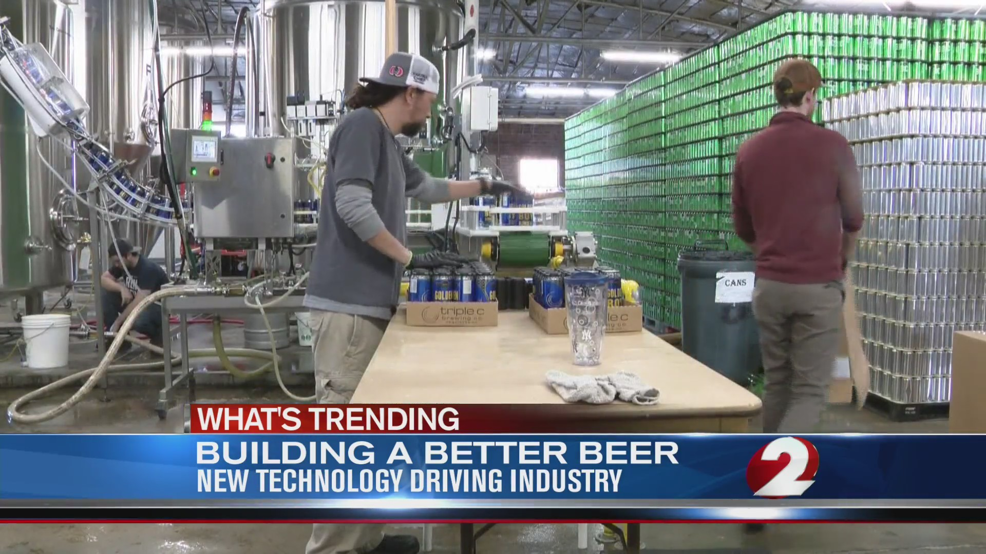 Building better beer with technology