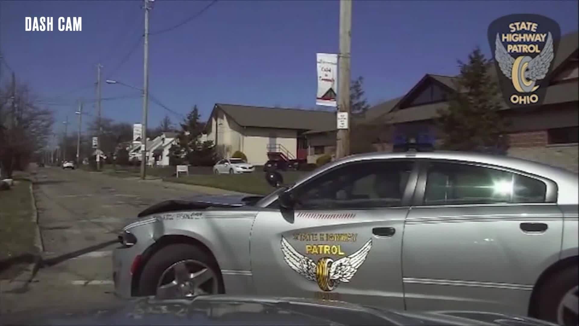 Cleveland dash cam crash - 4/8/19
