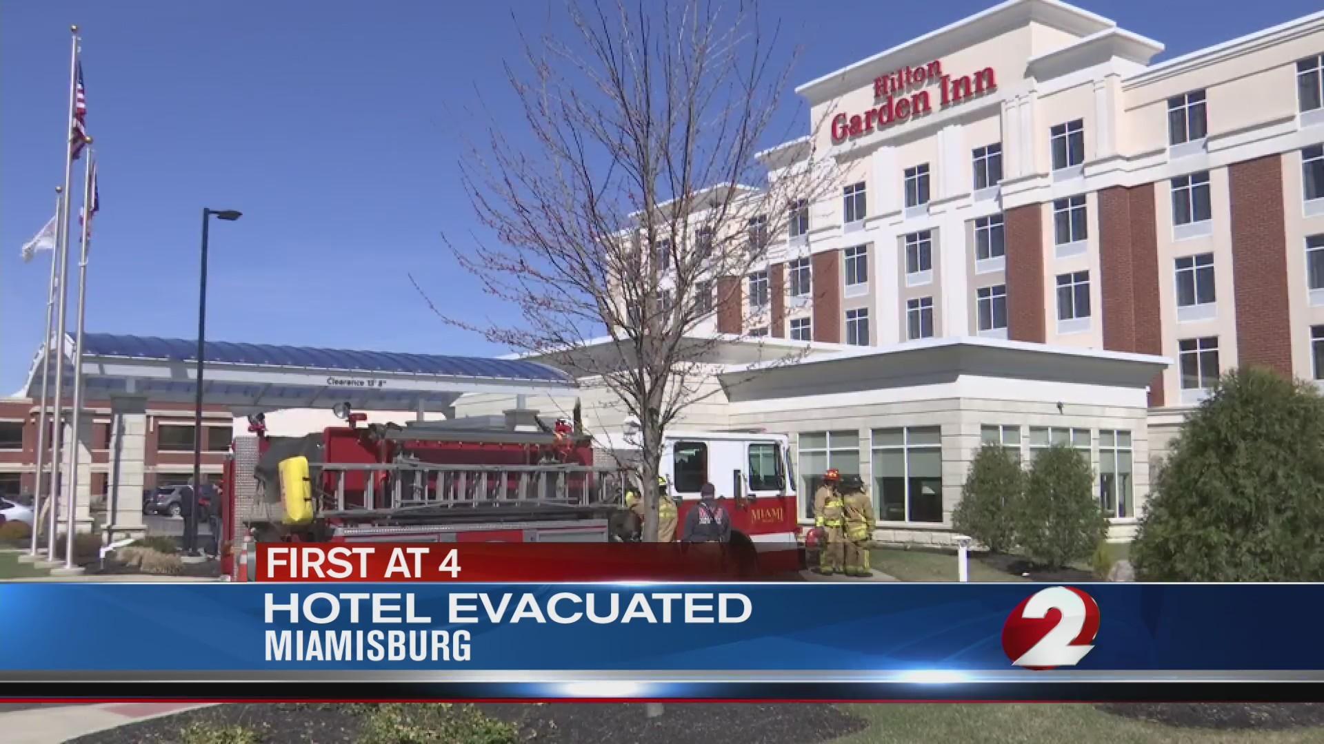 Hotel evacuated in Miamisburg