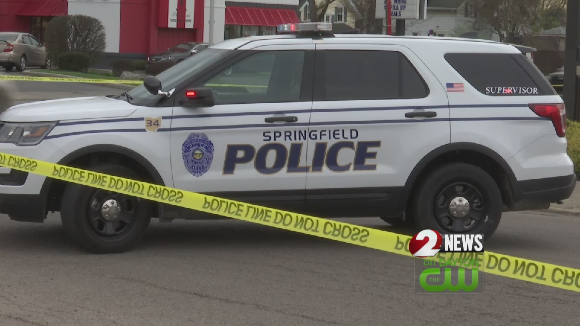 Suspect wanted after shooting near Springfield McDonald's