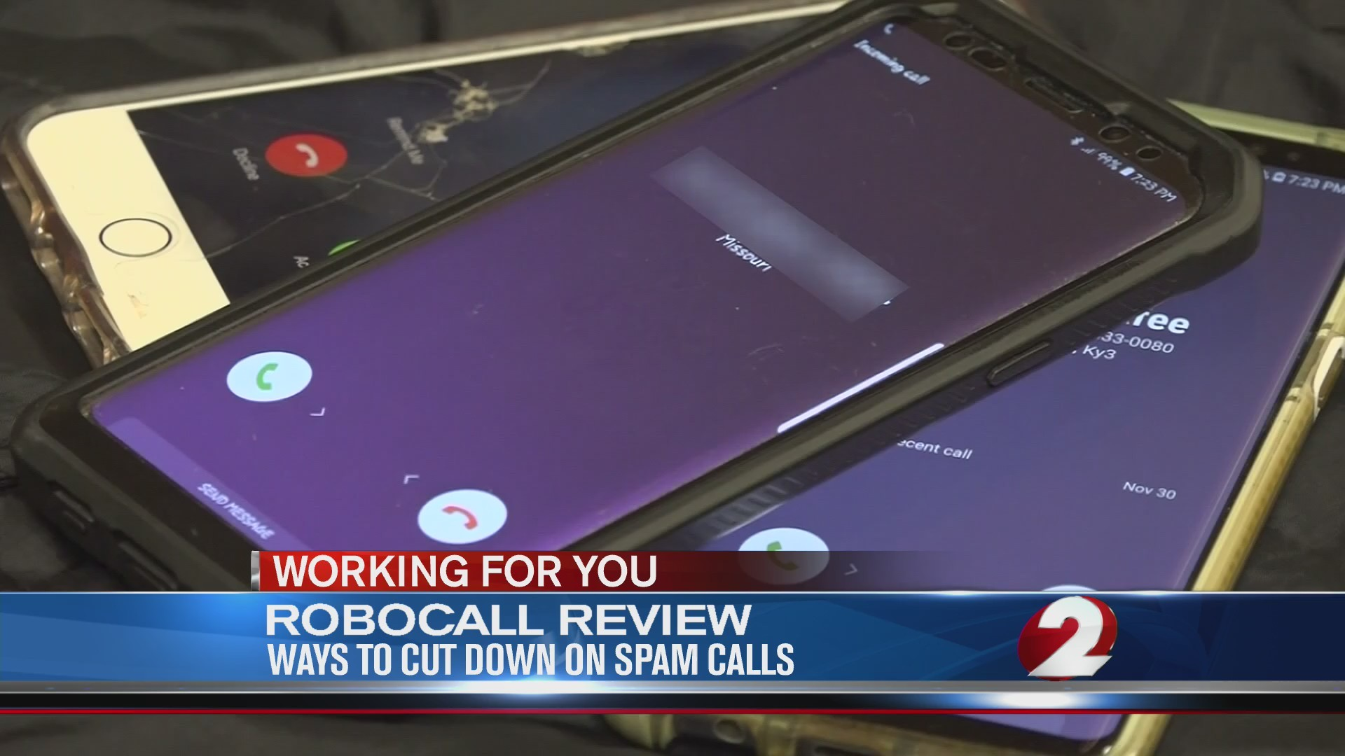 Ways to cut down on spam calls