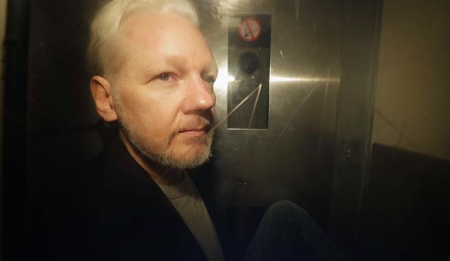 Britain WikiLeaks Assange_1556716450925