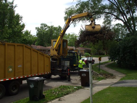 Centerville Public Works aids in disaster relief