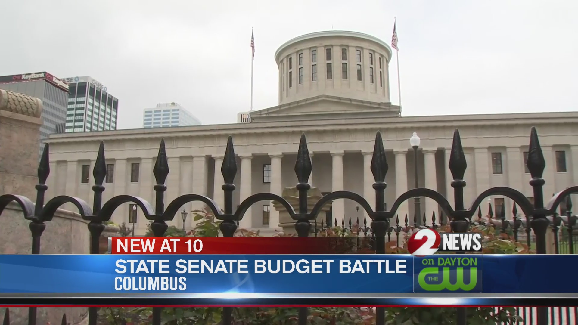State Senate budget battle
