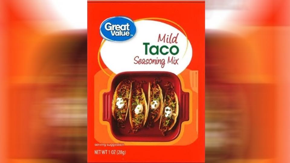 7-26 taco seasoning recalled