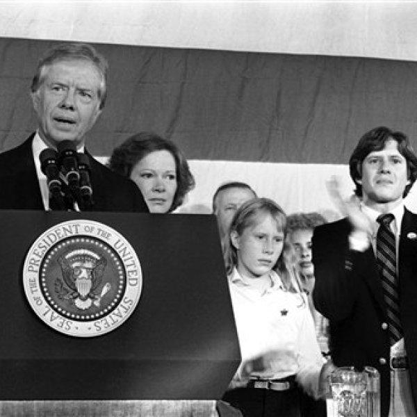 Jimmy Carter, Rosalyn Carter, Amy Carter