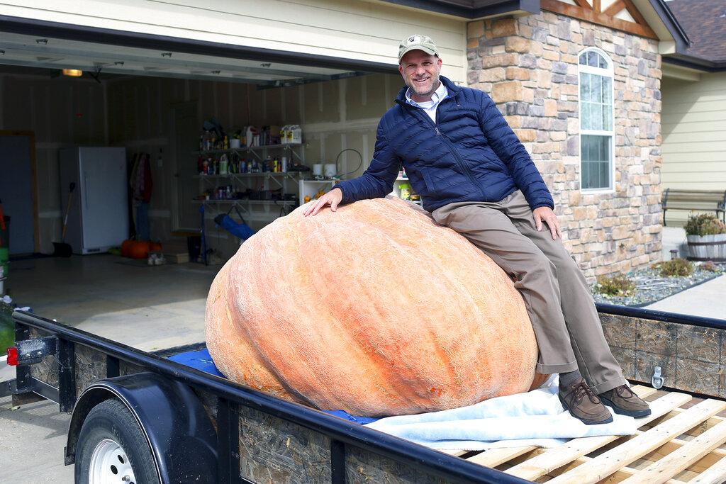 Wyoming Record Pumpkin
